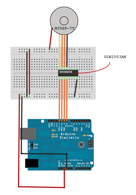 Laser on arduino uno